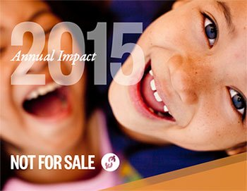 Not For Sale Impact Report 2015