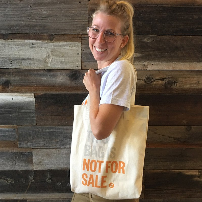 THIS BAG IS NOT FOR SALE - TOTE BAG