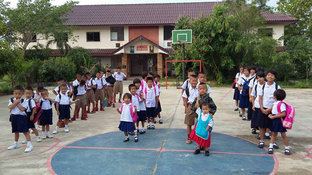 Image of students at Not For Sale's Thailand Project