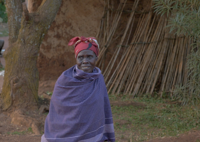 NFS Uganda - Woman in Village