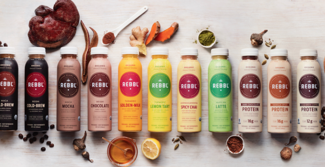Herb-Infused Coconut Milk Rebbl Raises $20 million from Cavu Venture Partners